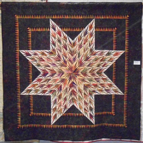 Quilt made by Barbara Miller